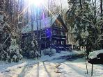 Nordic Haus chalet: ski-in/ski-out of Ski Brule, the jewel of the Yoop