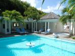 La Cocoteraie at Petit Cul de Sac, St. Barth - Private, Walking Distance To Beach, Exotic  Garden