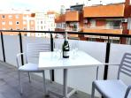 2 bed Barcelona Gracia apartment-private balcony