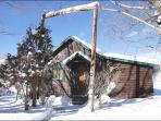 Pet Friendly Cabin with Private Hot Tub - Great Value - No Housekeeping Fees (11883)