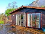 SUMMERTIME LODGE, ground floor, off road parking, spacious decked area, in Rhyd-y-Foel, Ref 17630