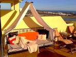 Fuengirola apartment, 40m2 terrace, BBQ, pool, sea