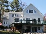 Newer Waterfront Vacation Rental on Lake Winnipesaukee (LUH207Wa