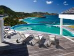 Coco at Lorient, St. Barth - Pool, Jacuzzi, Amazing Sunset Views