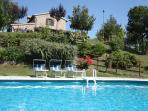 12 slees, beautiful house, panoramic pool