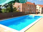 Apartment for 4 persons, with swimming pool , near the beach in Crikvenica