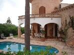 Attractive holiday house for 8 persons, with swimming pool , near the beach in Porto Cristo