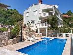 Apartment for 5 persons, with swimming pool , near the beach in Korcula