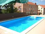 Apartment for 3 persons, with swimming pool , near the beach in Crikvenica