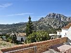 Attractive holiday house for 3 persons, with swimming pool , in Málaga