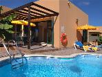 Holiday house for 6 persons, with swimming pool , in La Oliva, Corralejo