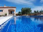 Luxury holiday house for 8 persons, with swimming pool , in L'Ametlla de Mar