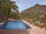 Attractive holiday house for 3 persons, with swimming pool , in San Bartolomé de Tirajana
