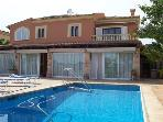 Holiday house for 13 persons, with swimming pool , in Cala Blava