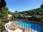 Apartment for 6 persons, with swimming pool , near the beach in Cala San Vicente