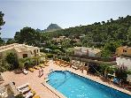 Attractive apartment for 4 persons, with swimming pool , near the beach in Cala San Vicente