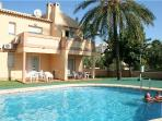 Apartment for 6 persons, with swimming pool , near the beach in Denia