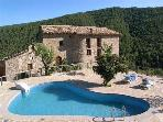 Luxury holiday house for 16 persons, with swimming pool , in Pyrenees