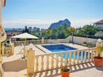 Holiday house for 6 persons, with swimming pool , in Calpe