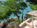 Attractive apartment for 6 persons near the beach in Omis