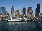 BOOK ONLINE! Waterviews! Pike Place,The Place for a Perfect Seattle Stay! STAY ALFRED HSW