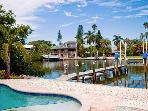 Starfish Dreams: 2BR/2BA Canal-Front Home with Dock and Pool