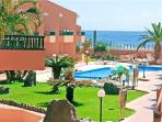Apartment for 4 persons, with swimming pool , near the beach in Valle Gran Rey