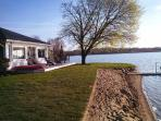 Lake Front Beach Home W/ Guest House sleeps 10 Very clean and NICE 200ft of frontage includes kayaks and paddle boat