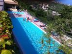 Garda Lake, Residencial flat with swimming pools