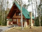Romantic 1 Bedroom Pigeon Forge Cabin in the Wears Valley Area with Jacuzzi