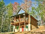 Secluded 1 Bedroom Cabin Close to the Arts and Crafts Community in Gatlinburg