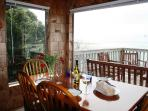 Spectacular Views of the Pacific Ocean at the Blue Rose Cottage