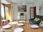 Ap 8pax, wifi, 4 bedrooms. Sagrada Famila-Ramblas