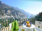Collinetta apartment in Positano three bedrooms