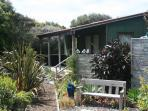 Studio cottage with views over the Kaipara