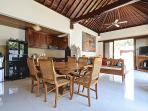 Quiet and Peaceful 3 bedroom Villa with Garden and Pool and a short walk to the Beach.