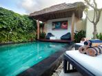 Nice Villa + privat Garden and Pool in Seminyak