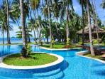 Idyllic Villa Kalyana offers beachside pool, snorkeling and onsite Thai chef