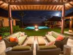 Hale Ohana Luxury Villa - Beachfront w/ pool & spa