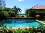 Lovely beachside bungalow and pool in Koh Samui