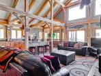 Serene mountain home with pool table and gorgeous mountain views from the hot tub! - Snow Mountain Lodge