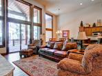 Secluded townhouse with sweeping mountain views, home theater, hot tub, and shuttle on demand - Whispering Pines South