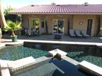 The Ventura, Pristine Pool/Hot Tub, Built In BBQ, Patio Misting System and Gym