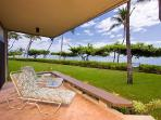 Fabulous beachfront Puunoa Beach Estates - Condominium 105 with housekeeper