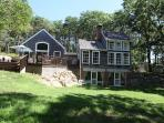 Charming house on private 3 acres.  Private beach