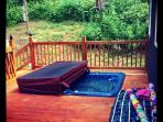 Fish Creek, WV Cabin - Direct Creek views from wrap around Porch w/ Hot tub!
