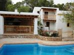 Holiday house for 7 persons, with swimming pool , in Santa Eulalia del Río