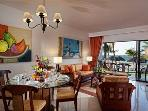The Royal Cancun ,2 B.R.Beachfront Suite, 969 sqft
