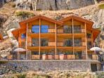 Chalet Castor - catered and serviced, freestanding