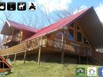 Yatesville Lake Premium Vacation Cabin Rental